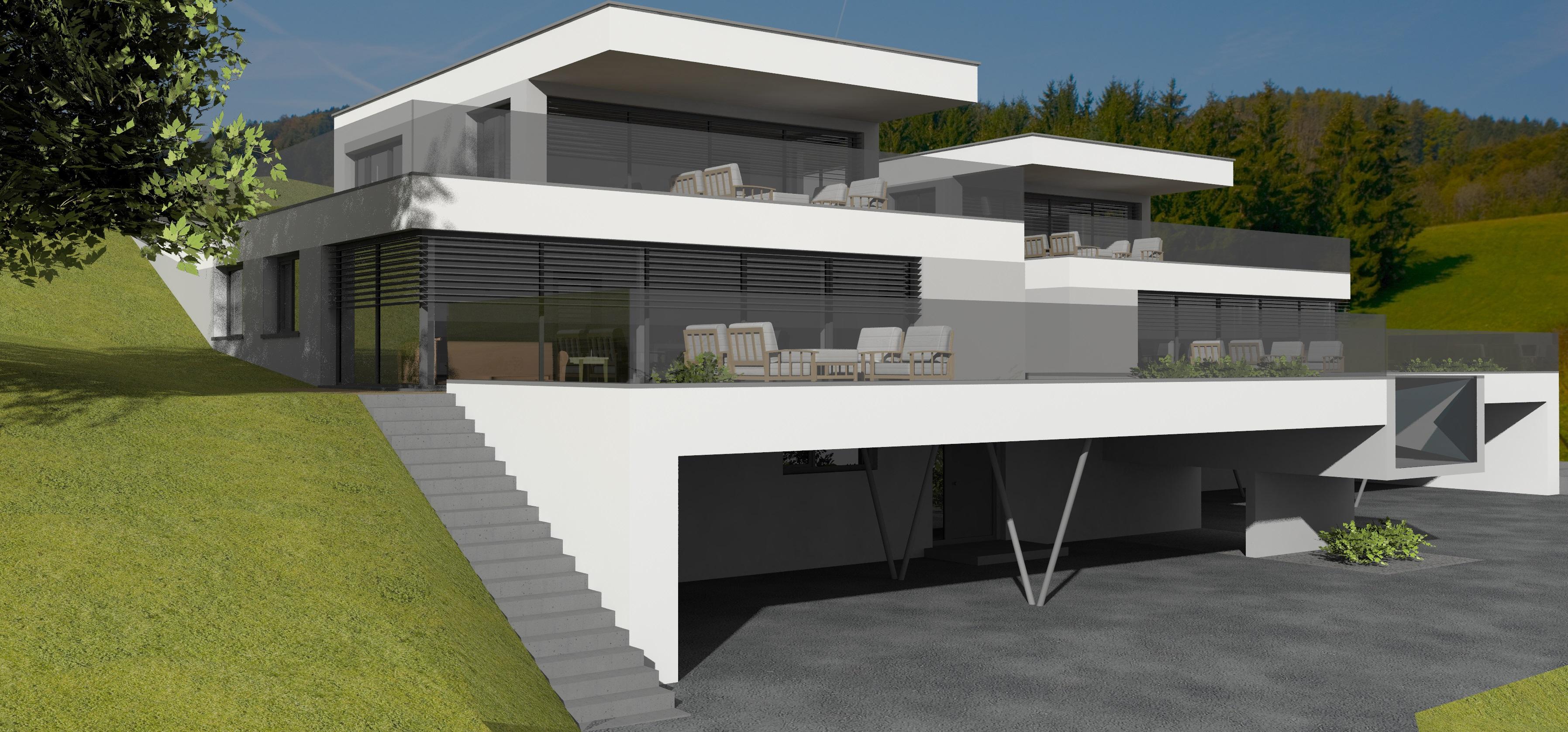 Großartig Architekten Häuser Sammlung Von Modell Katharina